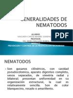 Generalidades de Nematodos