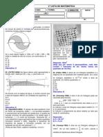 Lista Matematica 3ano