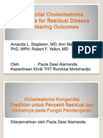 Congenital Cholesteatoma