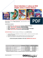 Prezentare Libertatea + Colectia DVD-Uri Clasice Disney