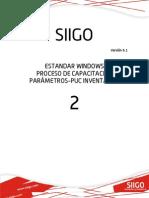 Cartilla 2 - Parametros Puc Inventarios Standar Version 61
