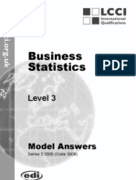 Business Statistics/Series-2-2005(Code3009)