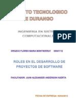 Roles en El Desarrollo de Proyectos de Software