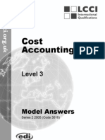 Cost Accounting/Series-2-2005(Code3016)