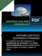 Antenas Con Reflector Parabolico