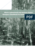 Black Cottonwood and Balsam Poplar Managers' Handbook for British Columbia