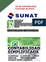 Sistema de Contabilidad Simplificada en Excel