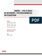 Future Refinery FCCs Role in Refinery Petrochemical Integration