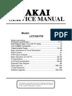 Akai Lct3201td(Cmo) Lcd Tv Service Manual[1]