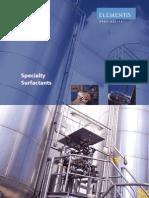 Surfactants Brochure