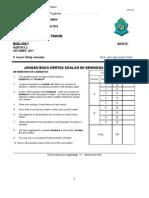 Answer Scheme for Biol Pat 2011 Form 4