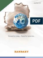 Ranabxy Annual Report 2007