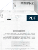 Test Mmpi 2 Inventario Multifasico de Personalidad
