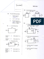ECE 1311 Electric Circuits Assignment and solution