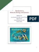 Mol Bio Nd Genomics