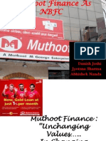 Muthoot Finance as Nbfc - Love Mahajan