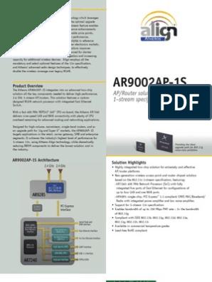 ar7241 | Ieee 802 11 | Wireless Lan