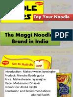 Maggi Noodles Final