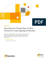 Securing Your Private Keys as Best Practice for Code Signing Certificates