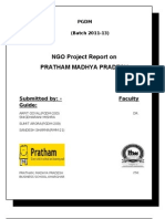 NGO Report on Pratham