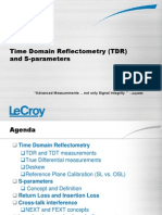 1 Time Domain Reflectometry and Sparameters