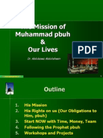 1Mission of Muhammad Pbuh and Our Lives