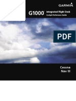 G1000 CessnaNavIII CockpitReferenceGuide SystemSoftwareVersion0563.03orlater