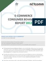 e Commerce Consumer Behaviour Report 2012