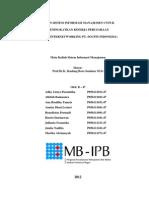 Peran Sistem Informasi Manajemen PT. Socfindo (Kelompok Biru)