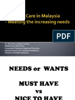 Meeting the Increasing Needs_Dr Richard Lim