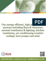 Airtherm Brochure 2012