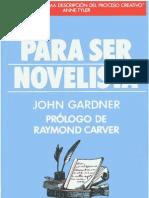 Gardner, John - Para Ser Novelista (CV)