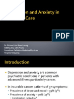 Depression and Anxiety in Palliative Care_Dr Richard Lim