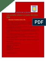 Diario de a Bordo Aston Villa Tercera Edición