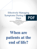 Effectively Managing Symptoms During the Final Days_Dr Ong Eng Eng