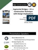 Segmental Bridge Construction