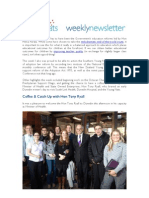 Weekly Newsletter #15 2012
