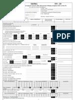 AY 2005-06 Saral Form 2D