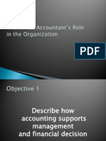 The Senior Accountant's Role