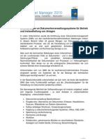 Anforderungen an Ein DMS