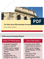 The Xilinx Zynq-7000 Extensible Processing Platform