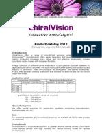 ChiralVision Product List
