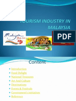 Tourism Industry in Malaysia