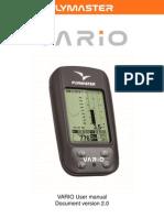 Flymaster VARIO Manual en v2
