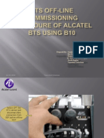 Alcatel BTS Presentation Using B10