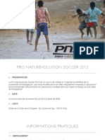 Tournoi de Foot - Naturevolution