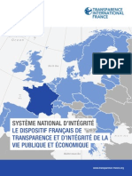 Systeme National d'Integrité France
