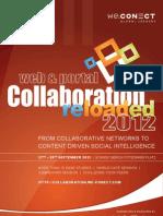 Web+Portal Collaboration Reloaded 2012_agenda