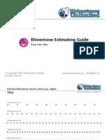 Estimating Guide v 1