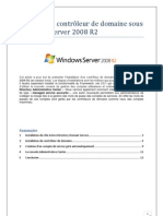 WS2008-Installation DC Sous Windows 2008R2